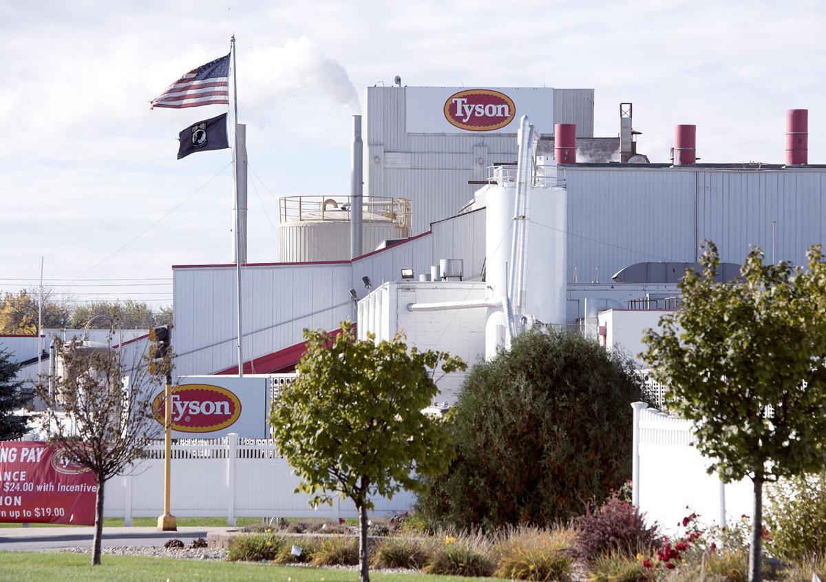 Tyson Foods Storm Lake pork plant