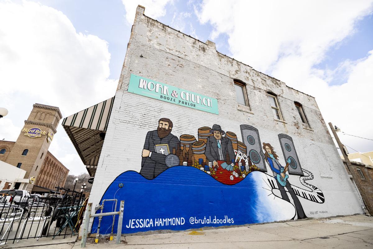 Jessica Hammond mural