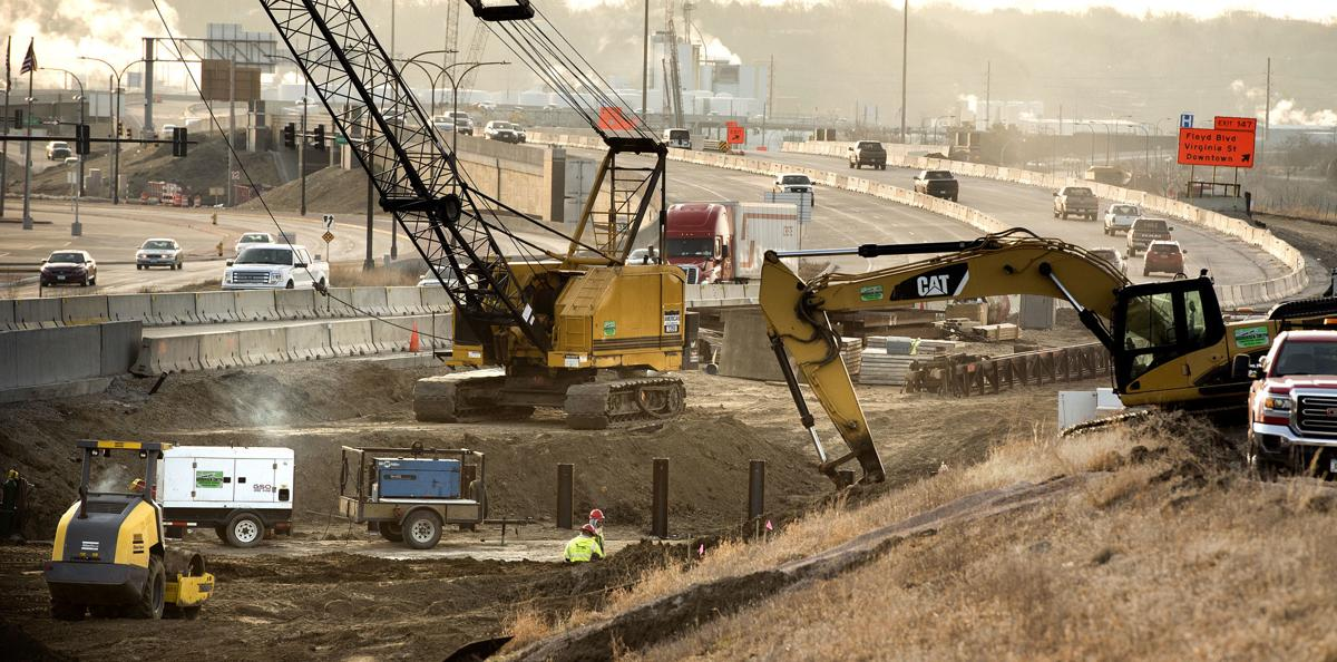 Interstate 29 construction 040119