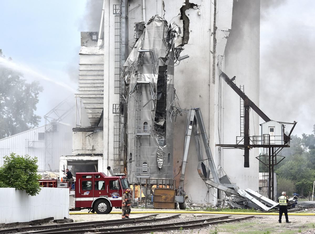 South Sioux City grain elevator explosion