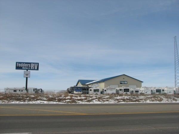 Le Mars, Iowa, RV dealer sets up camp at larger site