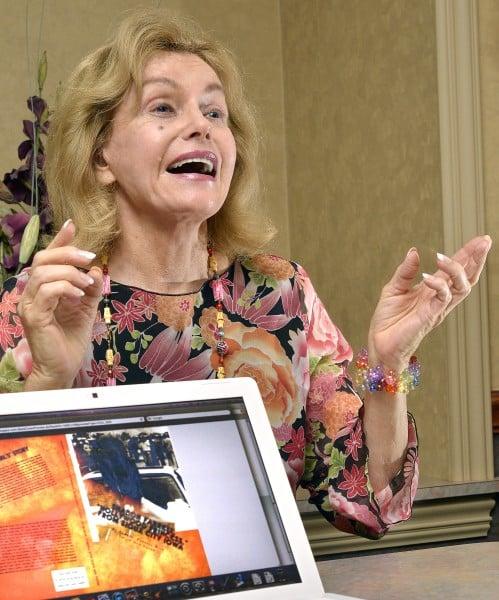 Actress Sharon Farrell