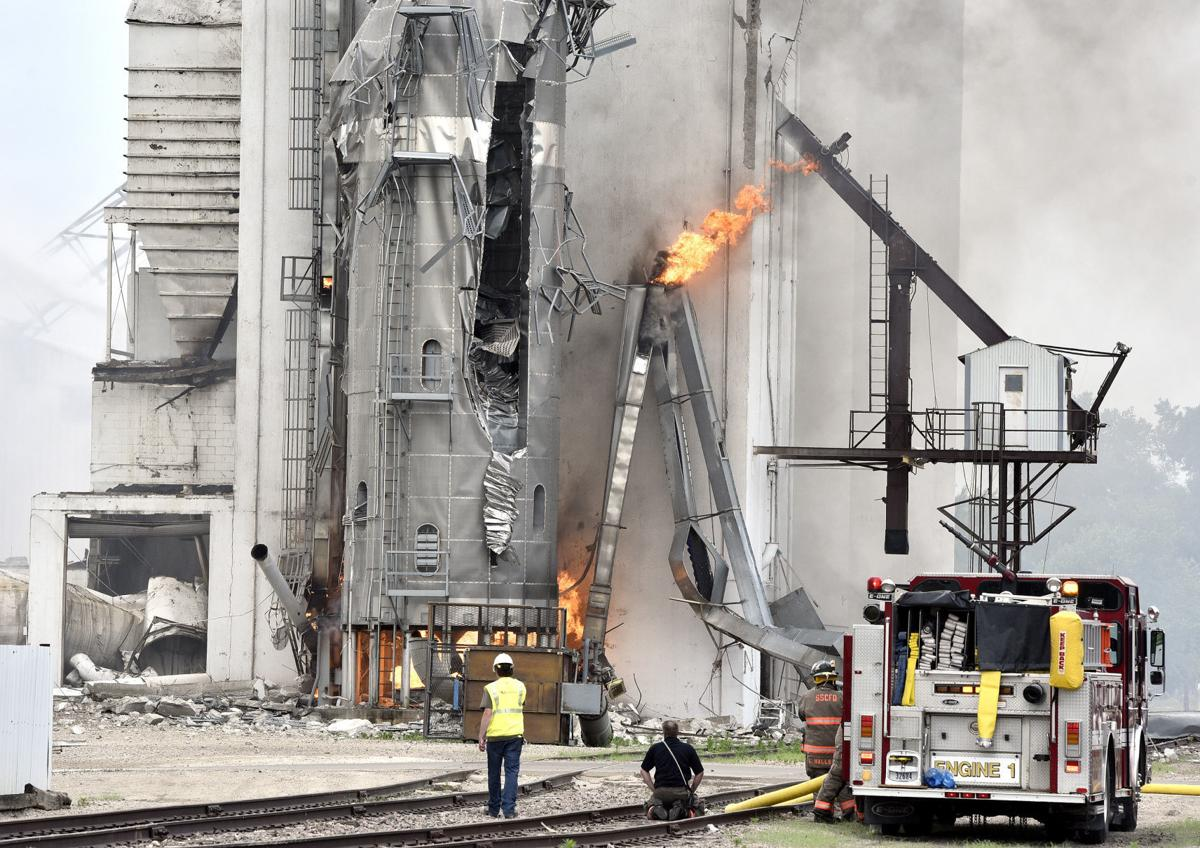 Video South Sioux City Grain Elevator Explosion Local News