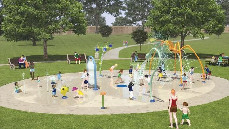 Cook Park Splash Pad