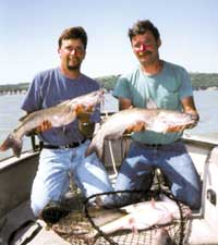 """Top """"Cats': Jefferson's Carter brothers lead pro fishing series"""