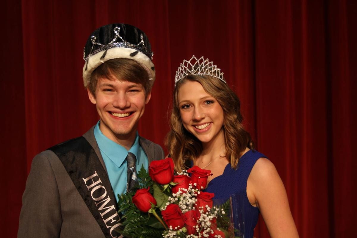Morningside College homecoming royalty 2018