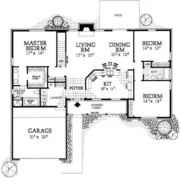 Hmafapw00743 one story farmhouse lifestyles - Best country house plans gallery ...