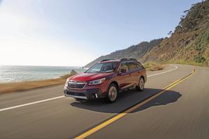 2020 Subaru Outback.