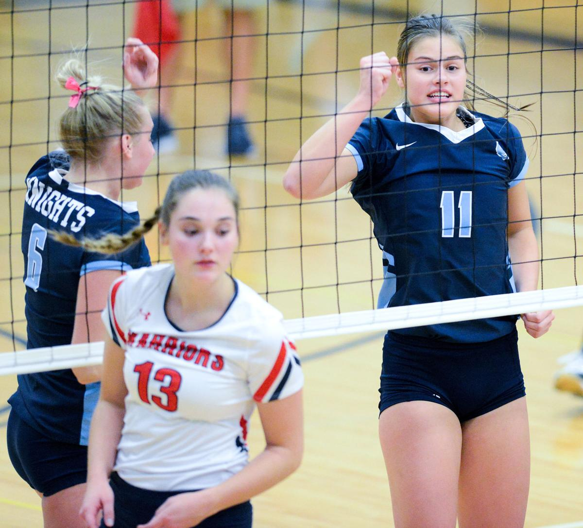Alta-Aurelia at Unity Christian Volleyball