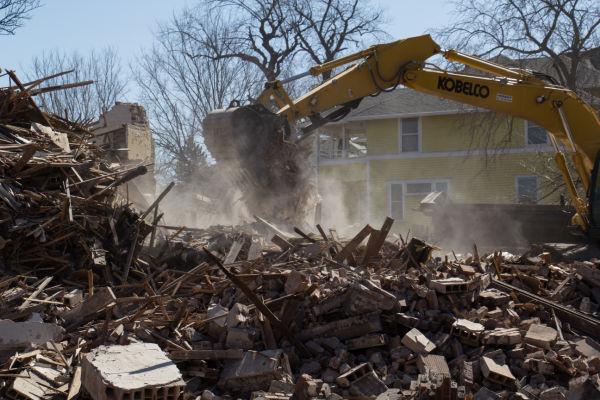 Bolstein Apartments demolition