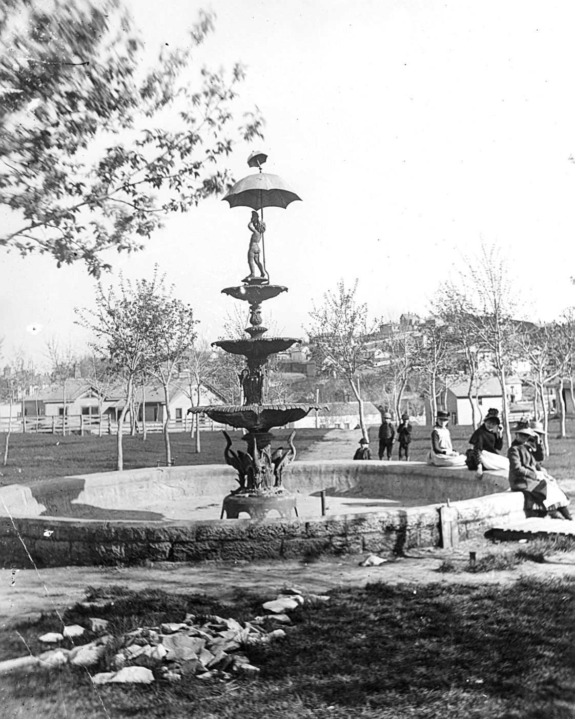 Westside Park fountain