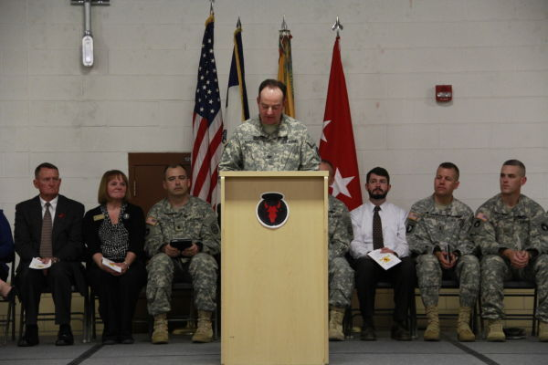 Col. Greg Hapgood rededicates Sioux City Readiness Center