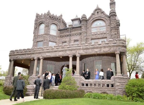 Deck McCarthy wedding at Peirce Mansion