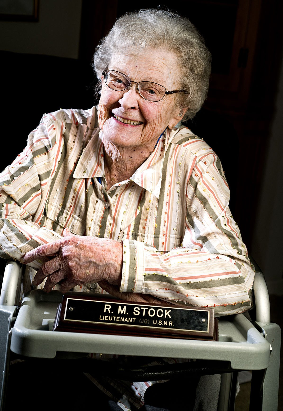 Female veteran Roberta Pendleton