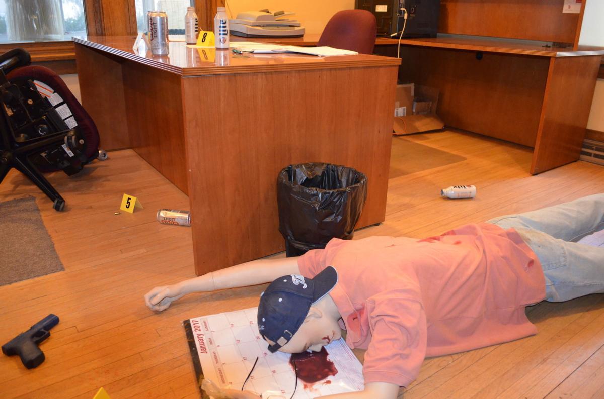 USD crime scene Mike Burgeson