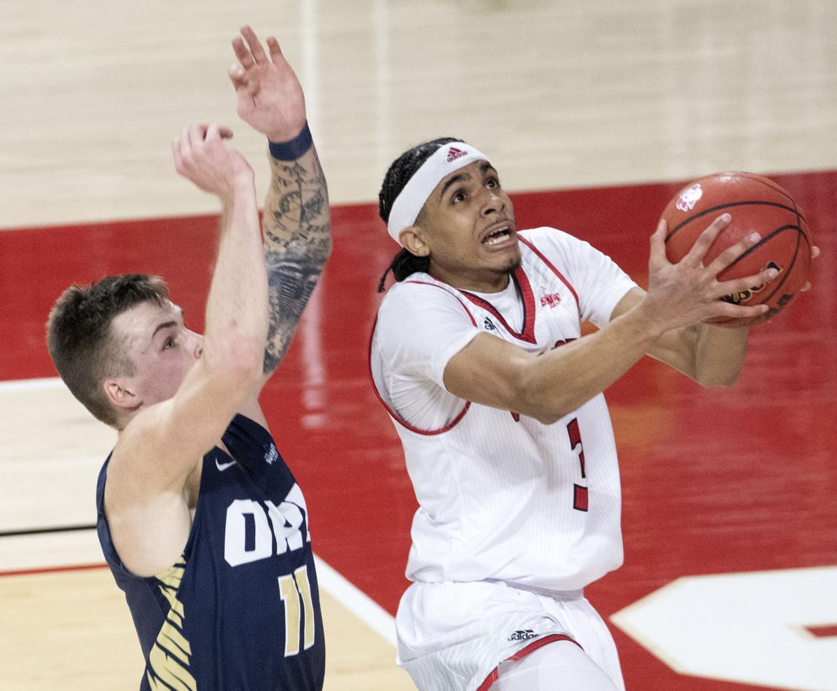 USD vs Oral Roberts men's basketball