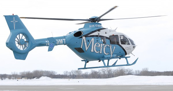New Mercy MAC-1 helicopter