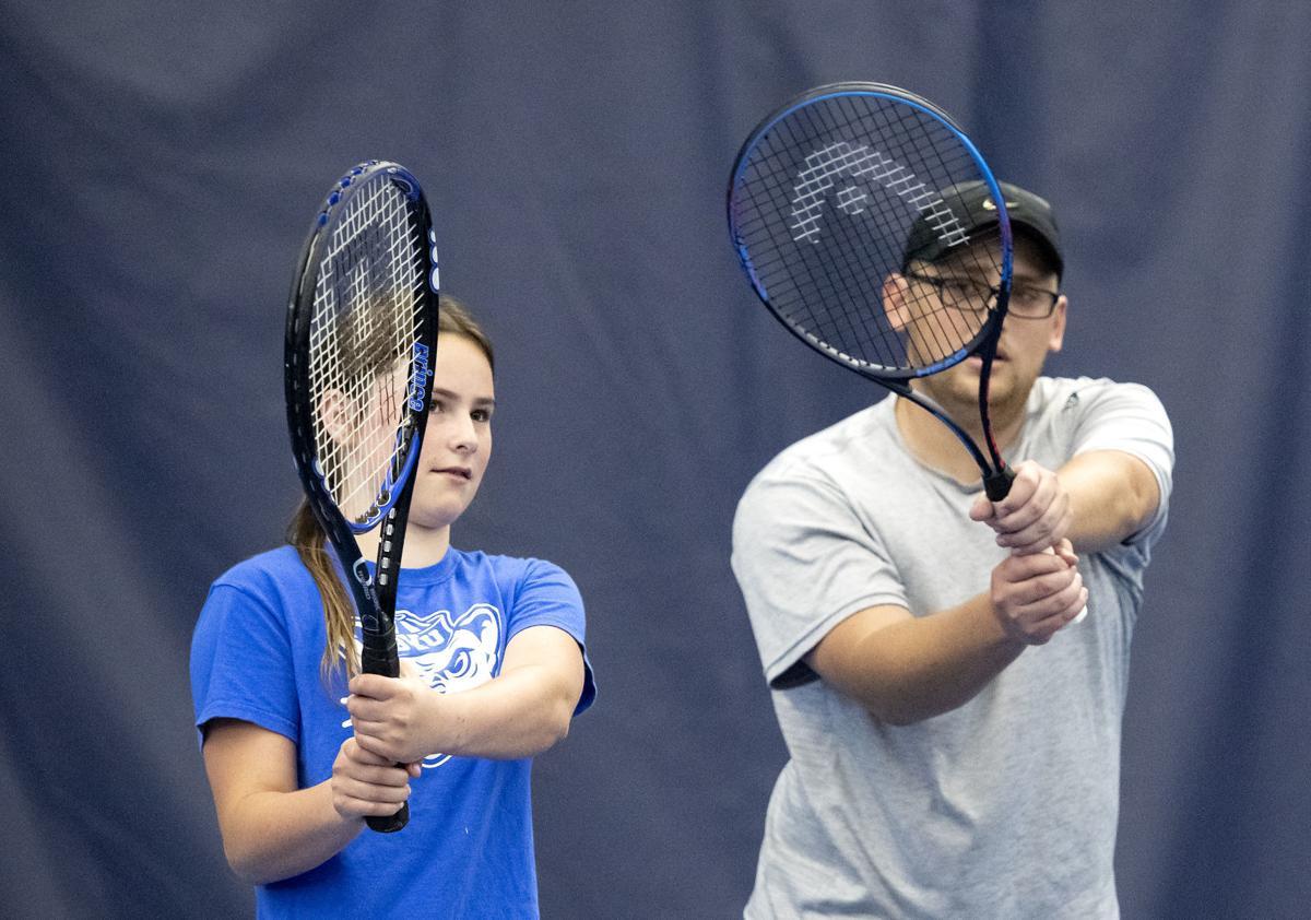 Tennis is back in swing