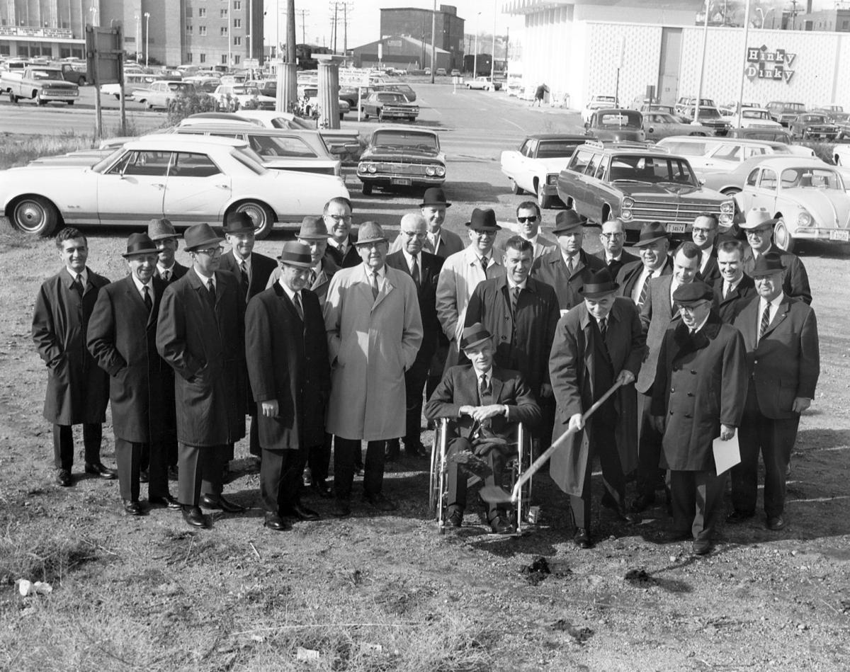 Rodeway groundbreaking, 1967