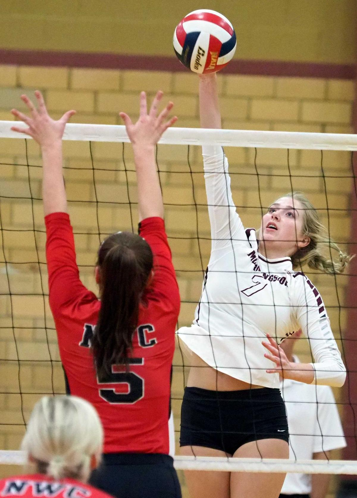 Northwestern at Morningside volleyball