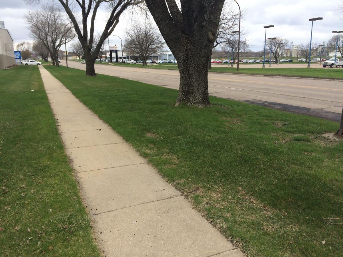 Sioux City sidewalk