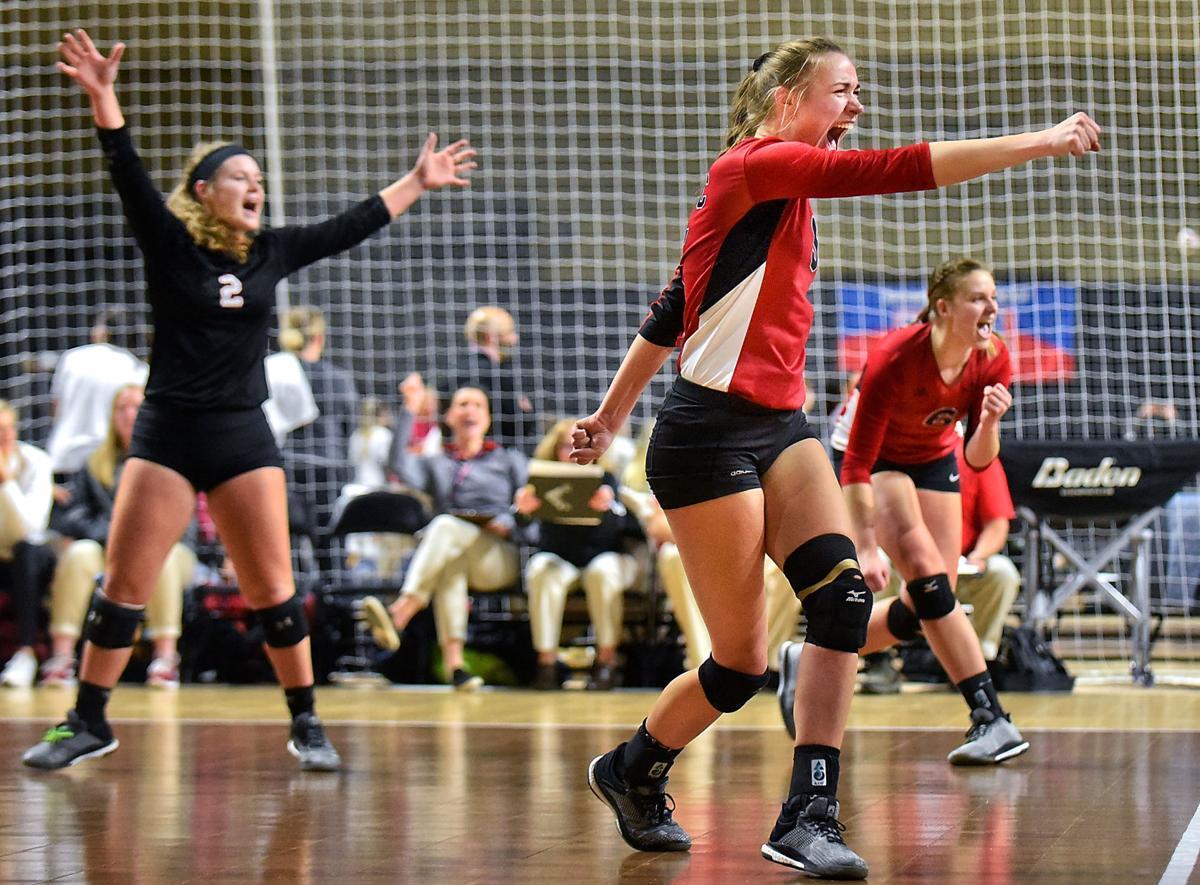 Volleyball NAIA Northwestern vs. McPherson
