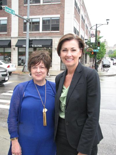 Debi Durham and Kim Reynolds