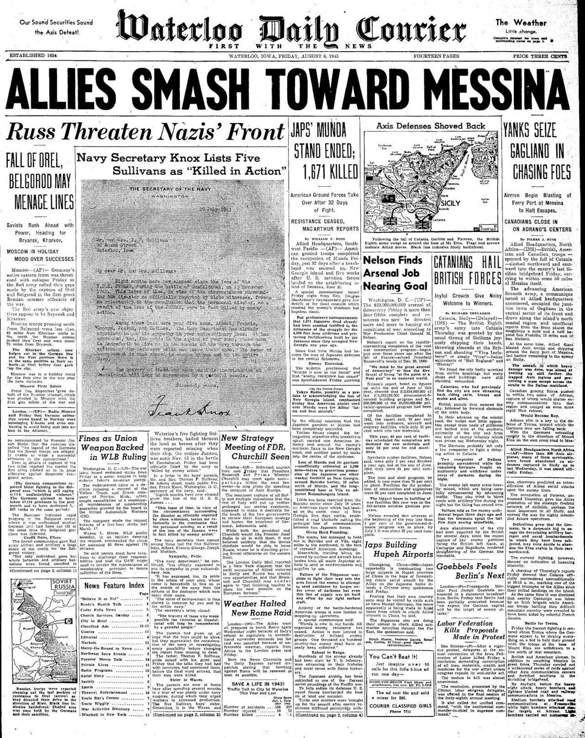 Courier Aug. 6, 1943
