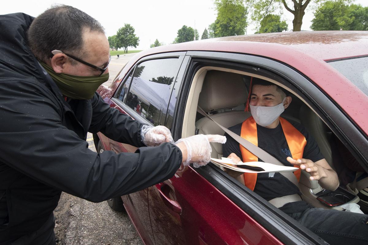 COVID-19 drive through diplomas 1