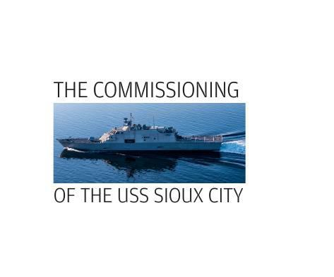 USS Sioux City Commissioning logo