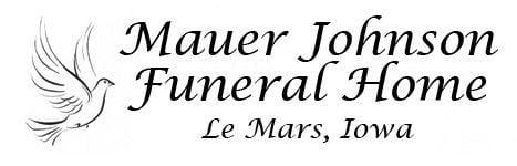 Obit-Mauer Johnson Le Mars Funeral Home logo