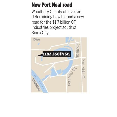 Port Neal Iowa Map.Click Here For A Map Of The Cf Industries Site Siouxcityjournal Com