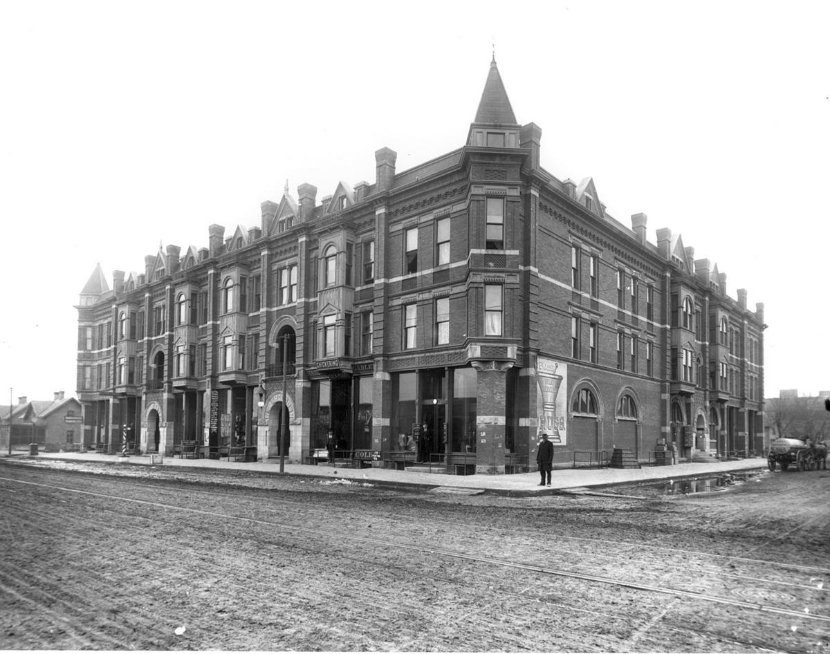 Rutland Hotel, 100 years ago