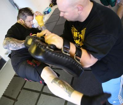 mixed martial arts figthers