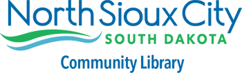 north sioux city library logo