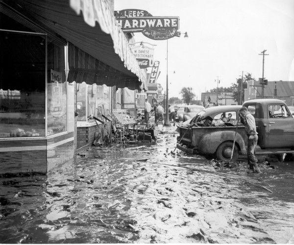 Floyd Flood 1953 at Leeds Hardware