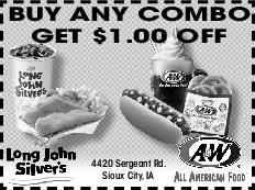 Buy Any Combo Get $1.00 Off