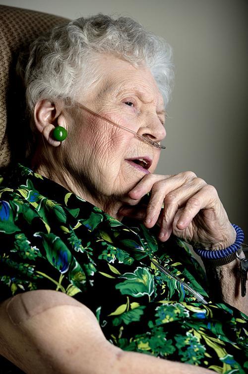 Female veteran Margaret Jessen