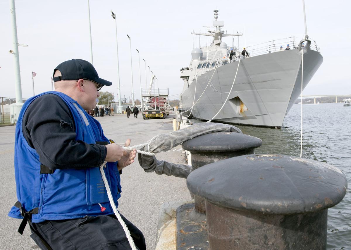USS Sioux City departure