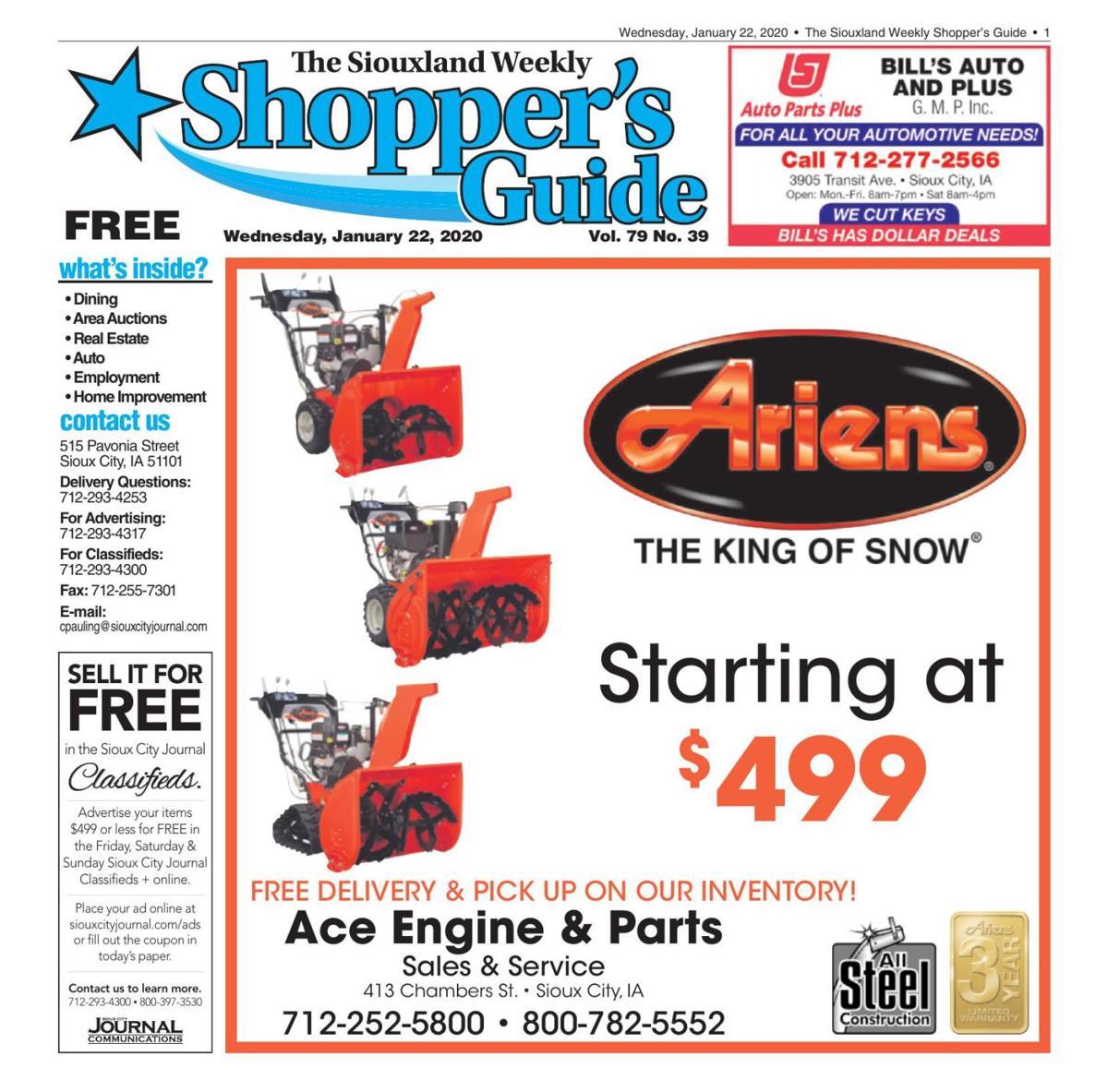 Shopper's Guide - January 22, 2020