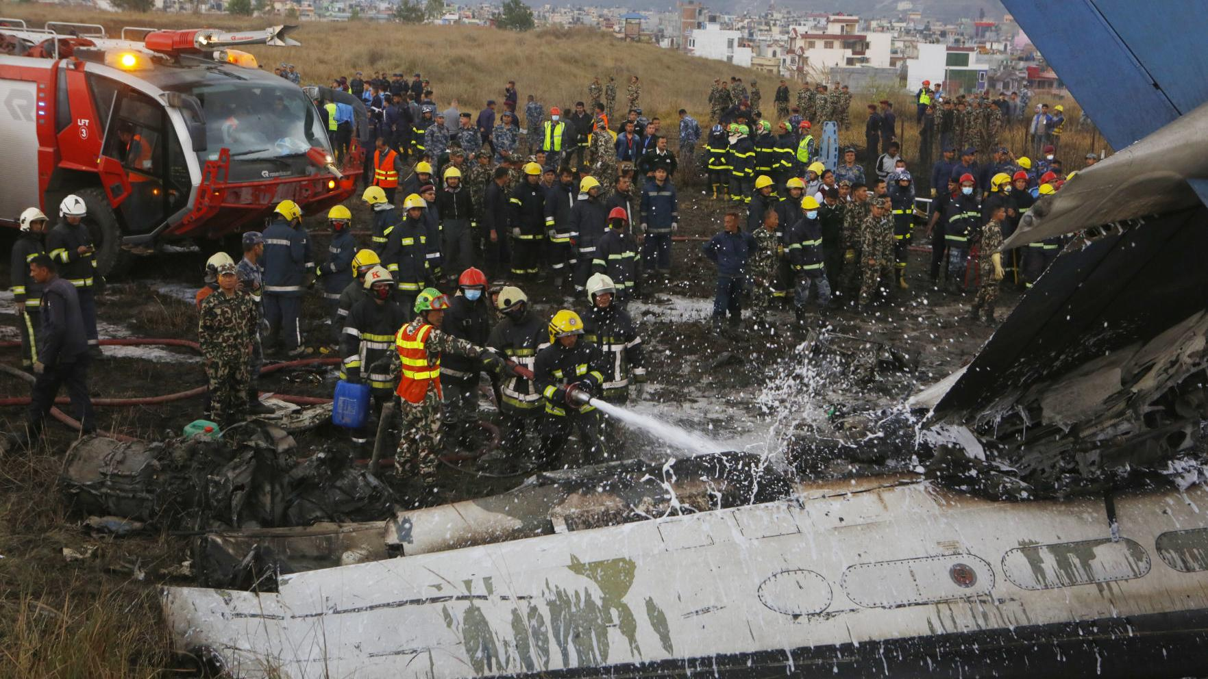 At least 50 dead in Nepal plane crash