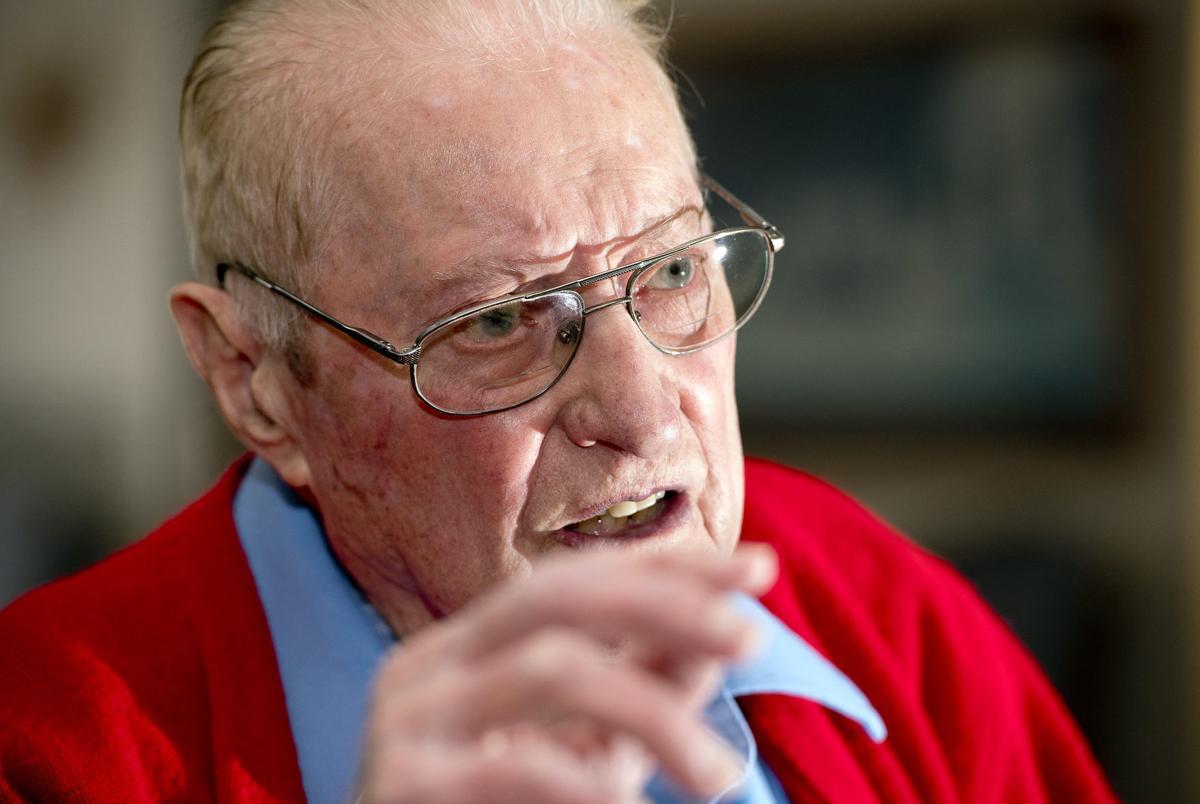 WWII veteran John Hendrix