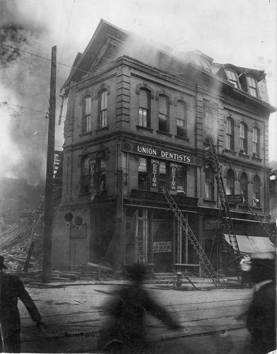 Hedges building, 1918