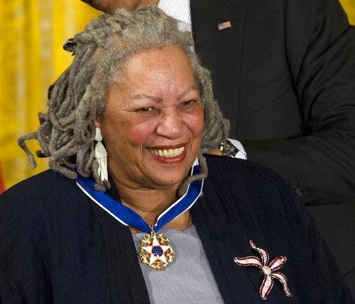 Nobel laureate Toni Morrison honored by Authors Guild