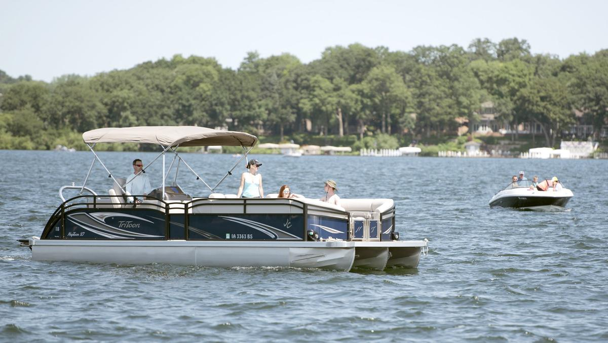 Okoboji boating