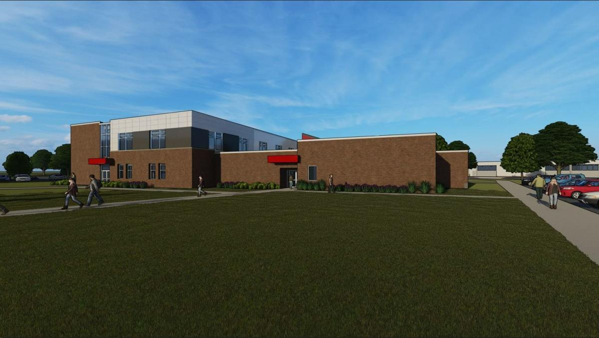 NCC health science building rendering