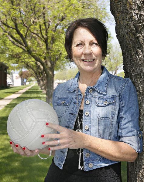 volleyball official SuzAnn Jansen