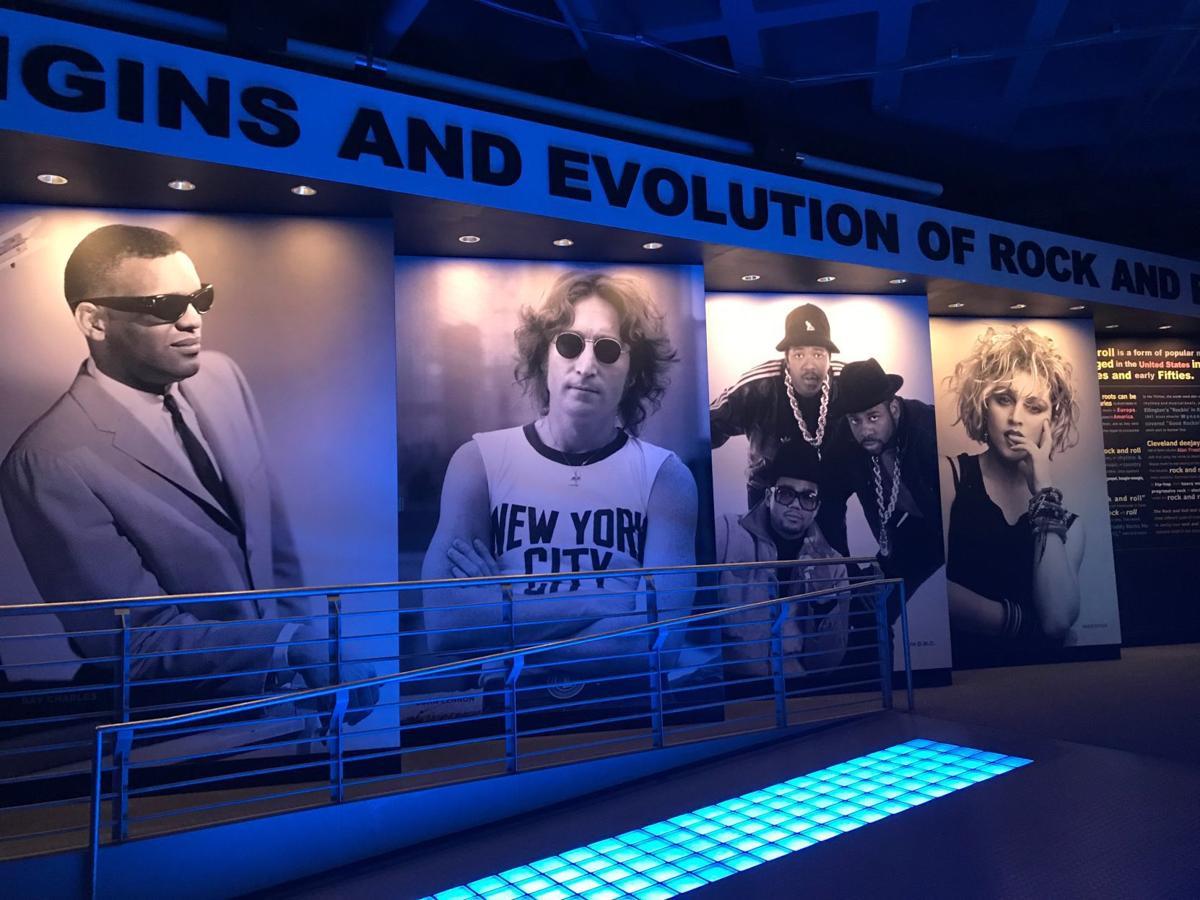 Rock Hall of Fame origins evolution wing