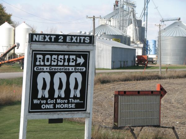 Rossie sign