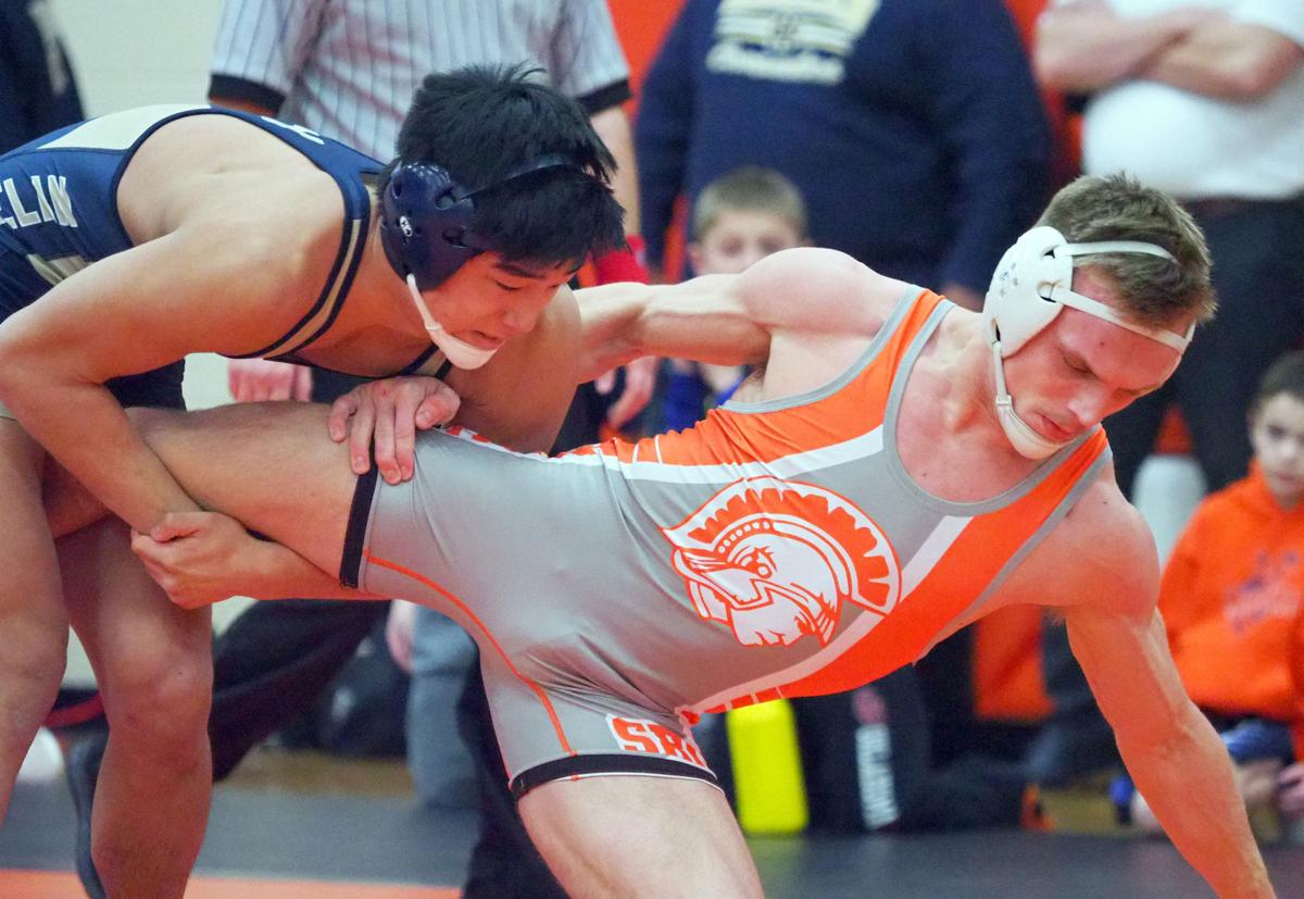 Sectional Wrestling in Sergeant Bluff